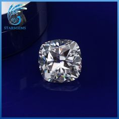 China Manufacturer EF Color Cushion Cut White Moissanite Loose Stones For Jewelry Rings.