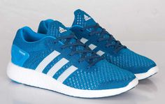 adidas Primeknit Pure Boost 'Blue' (Detailed Pictures)