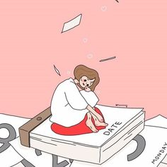 • 일러스트 여자 배경화면 모음! : 네이버 블로그 Cute Wallpaper Backgrounds, Tumblr Wallpaper, Cute Cartoon Wallpapers, Korean Illustration, Cute Illustration, Cute Art Styles, Cartoon Art Styles, Girly M, Cartoon Kunst