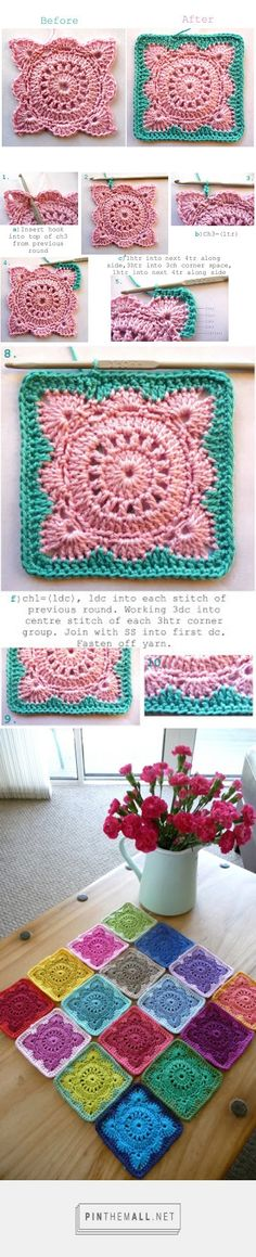 Annie's Place: Solid 'Willow' Crochet Block How-To - created via http://pinthemall.net