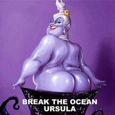 Ursula. Break the ocean.