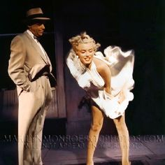 "Marilyn & Tom Ewell in ""The Seven Year Itch"" 1955"