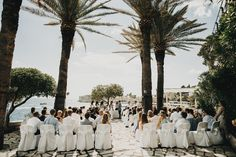 Wedding ceremony in Dubrovnik, Croatia.