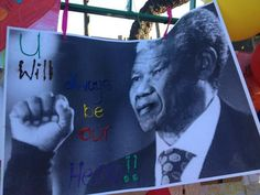 More messages on the wall. Lung Infection, New Africa, Nelson Mandela, Pray, Messages, News, Wall, Pictures, Photos