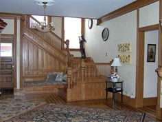 1889 Victorian staircase