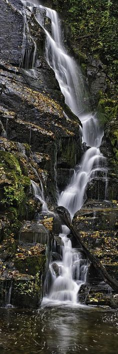 Landscape Photography Tips: North Carolina Water Fall by Tom Croce