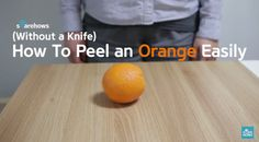 After using this Know-How, you'll never peel an orange the same way again! http://en.sharehows.com