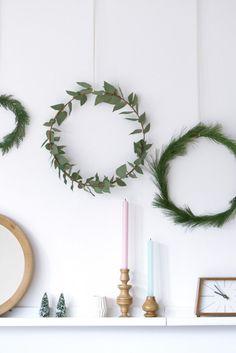 Easy Christmas wreath More
