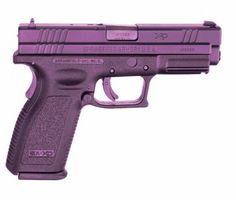 A purple XD! Pretty cool! Although, as much as I like purple, I'd rather go with black. With an (m) after the XD. ;)