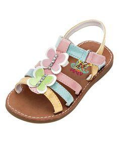 Look what I found on #zulily! Pastel Opal Sandal #zulilyfinds