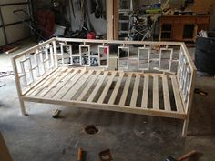 One Project at a Time - DIY Blog: Building a West Elm Inspired Daybed