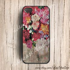 iphone 5 case  Floral on Wood iphone case  iphone 4s by IdeaCase, $16.50