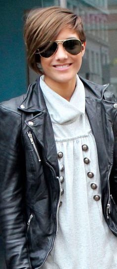 Frankie Sandford. Like the clothes and the hair!