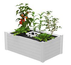 Vita 3' x 5' Keyhole Garden - Classic White - BJ's Wholesale Club