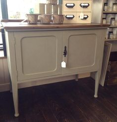 This buffet is painted in gorgeous Autentico Vintage Chalk Paint in Belgian…