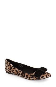 Topshop 'Villa' Pointy Toe Flat (Women) available at #Nordstrom
