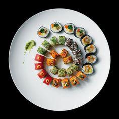 Rullen rundt at Sticks n Sushi Copenhagen