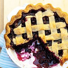Blueberry Cobblers and Pies - MyRecipes