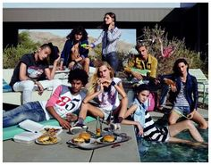 Lucky Blue Smith, Ysham Toof + More Enjoy Pool Party for Hilfiger Denim Spring/Summer 2015 Campaign