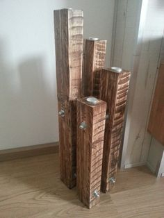 Chandelier made of recycled pallets #Chandelier, #Light, #Pallets