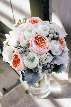 I love the colors - the shape/texture is a little less soft than I would like but at the same time it makes it interesting... i would probably want something in between... love the soft white/green of the berries and fuzzy leaves too