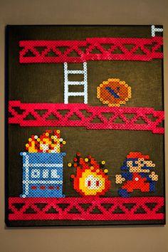 Donkey+Kong+Scene+by+NestalgicBits.deviantart.com+on+@deviantART