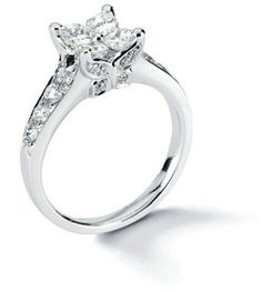calla cut butterfly engagement ring calla cut r21 040047 jonesandsonringscom - Butterfly Wedding Rings