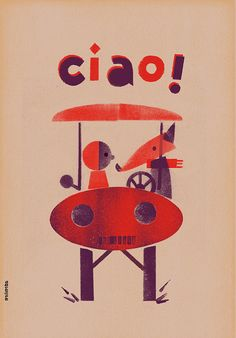 CIAO by milimbo on Etsy, €10.00