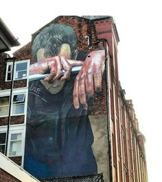 Street Art by Case Maclaim found in Manchester