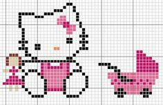 Hello Kitty baby - pattern