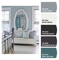 Living Room Colors Made with Chip It! by @SherwinWilliams