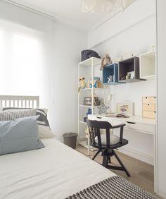 Dormitorio de vivienda ntegramente proyectada y decorada - Natalia zubizarreta interiorismo ...
