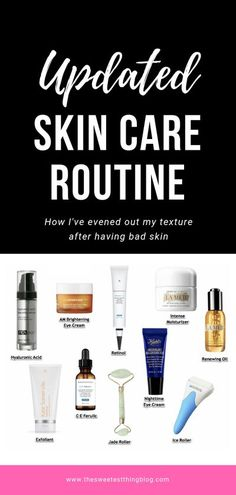 Why I use a Jade Roller and How I've evened out my texture after having bad Skin. Updated Skin Care Routine, Emily Gemma, The Sweetest Thing Blog Homemade Moisturizer, Homemade Skin Care, Beauty Tips For Skin, Skin Care Tips, Daily Beauty, Beauty Routine Calendar, The Sweetest Thing Blog, Best Skincare Products, Beauty Products