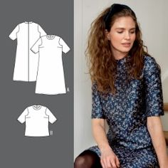 Dress and blouse Blouse, How To Wear, Clothes, Dresses, Sewing, Patterns, Tips, Fashion, Boss