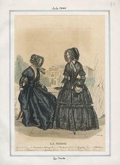 La Mode July 1844 LAPL