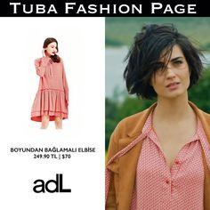 "702 Me gusta, 14 comentarios - TUBA FASHION PAGE  (@tuba.fashion) en Instagram: ""- #TubaBüyüküstün's Dress by @adl_official | $70 Heels by @lolas_heels | $32  - As Sühan in…"""