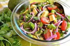 Black Bean & Avocado Salad