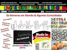 DaF: Die Zahlen & Kurioses (Dicas de alemão: Os números & Curiosidades)