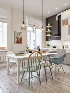 Casinha colorida: Décor escandinavo by INT2 Architecture