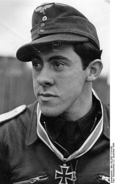 """Luftwaffe ace Gerhard """"Gerd"""" Thyben flew 385 combat missions and claimed 157 aerial victories. He claimed 152 victories on the Eastern Front, including 28 Il-2 Sturmoviks and five victories on the Western Front. He flew 22 fighter-bomber missions on which he claimed two aircraft and seven trucks destroyed on the ground. He survived the war and died in 2006."""