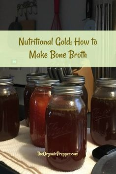 The difference between stock and broth are the ingredients, but it's no harder to make stock than broth. And, bone broth contains extra nutrients. Beet Soup, Soup And Salad, Food C, Diy Food, Baked Yellow Squash, How To Make Beets, Making Bone Broth, Canning Food Preservation, Usda Food