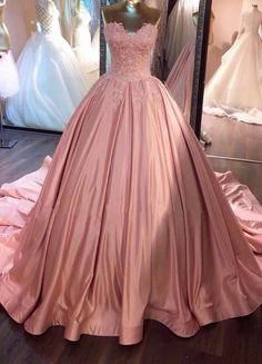 Think  PINK - Beautiful Gown!