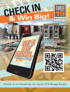 @319 Bragg #Facebook promotion. #leasingoffice #studenthousing #design #marketing
