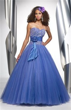 Ball Gown Sweetheart Floor-length Sleeveless Sashes/ Ribbons Sweet 16 Style Code: 05497 $184