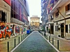 Love this geometry, Thessaloniki Greece by G. Dodou