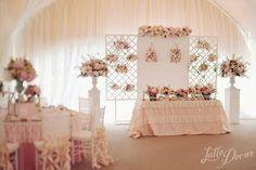 Свадьба в стиле Шебби Шик – оформление и декор