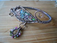 Paisley Dreamcathcher Bracelet Caged Variscite byj OurFrontYard