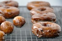 Light and Airy Glazed Sour Cream Doughnuts