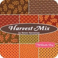 Harvest Mix Fat Quarter BundleRenee Nanneman for Andover Fabrics