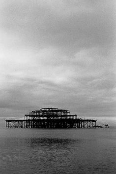 West Pier...Brighton, England. 2009- so very sad. This was my favourite pier growing up.